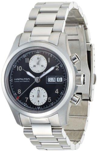 [ハミルトン]HAMILTON 腕時計 Khaki Field Auto Chrono 38mm(カーキ フィールド オートクロノ 38mm) H71466133 メンズ 【正規輸入品】