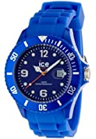 ICE-Watch - Montre Mixte - Quartz Analogique - Ice-Forever - Blue - Big - Cadran Bleu - Bracelet Silicone Bleu - SI.BE.B.S.09