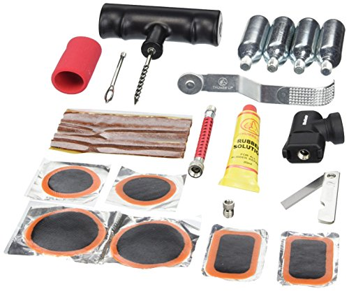 BikeMaster Tire and Tube Flat Repair Kit - --