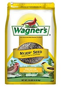 Wagner's 62050 Nyjer Seed, 10-Pound Bag