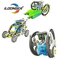 iLoonger� 14 in 1 Solar Robot Assembl…