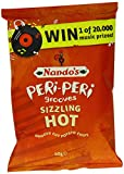 Nando's Peri-Peri Grooves Sizzling Hot 40 g (Pack of 12)