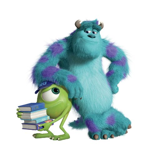 Fancy  Detail shop Disney us Monsters University Movie Mike u Sulley Wall Decals x