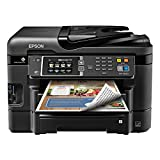 Epson WorkForce WF-3640A Wireless Color All-in-One Inkjet Printer with Scanner and Copier (2016 Model)