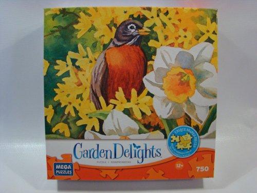 Garden Delights 750 Piece Jigsaw Puzzle: Spring Arrivals