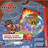 Preyas Element Change Special Attack Tan Bakugan Battle Brawlers Figure with Metal Card