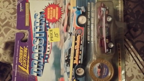 Johnny Lightning Dragsters Red 58 Christine Richard Earle Series 1 1995 - 1