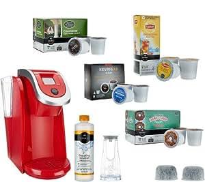 Keurig Coffee Maker Not Powering Up : Amazon.com: Keurig 2.0 K250 Coffee Maker with 31 K-Cup Packs & Water Filter Starter Kit ...