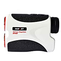 Target® 400M White Portable Golf Laser Rangefinder W/ Pin Sensor Hunting Golf Range Finder Binocular 6X Magnification...