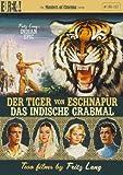 Der Tiger von Eschnapur / Das indische Grabmal (Fritz Lang's Indian Epic) [Masters of Cinema] [DVD] [1959]