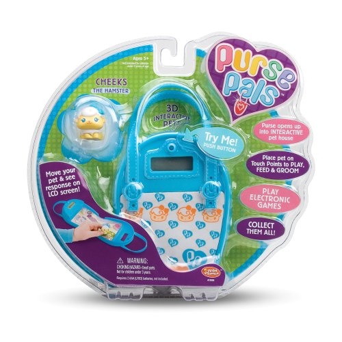 Wild Planet Purse Pals Cheeks the Hamster - 1