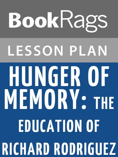 a literary analysis of hunger of memory by richard rodriguez Literary fiction mystery & thrillers  excerpt: 'hunger of memory  december 4, 2008 11:18 am et richard rodriguez hunger of memory.