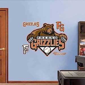 Fresno Grizzlies Logo by Fatheads