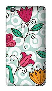 SWAG my CASE PRINTED BACK COVER FOR OPPO F1 PLUS Multicolor