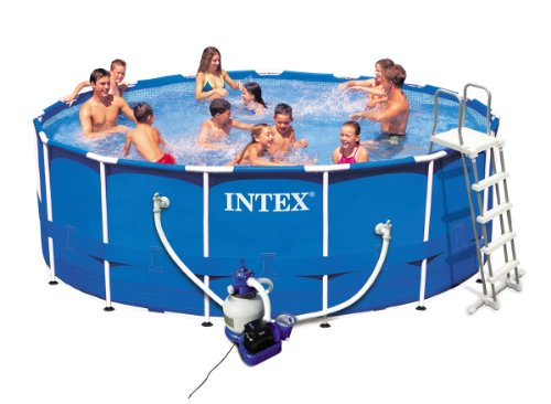 piscine angesart intex piscine tubulaire intex 4 27 x 1 22m filtre sable. Black Bedroom Furniture Sets. Home Design Ideas
