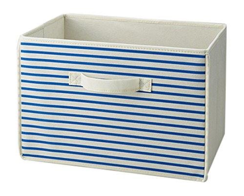 カラーボックス専用整理箱3個組 ブルー