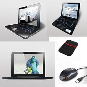 "MINI LAPTOP NETBOOK Android 4.2 écran 9"" pouces, CPU 1.5 Ghz DUAL CORE, HDD 8 Go, RAM 1 Go, HDMI, WIFI"