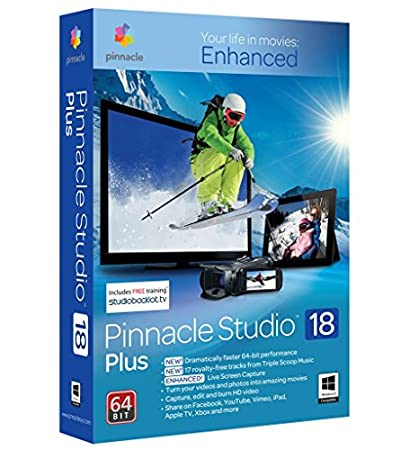 Pinnacle Studio 18 Plus - Software De Edición De Video