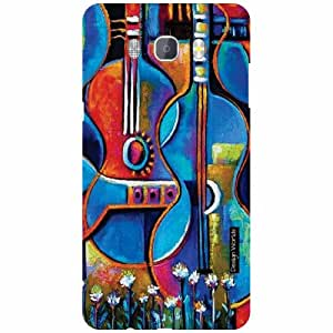 Design Worlds Back Cover For Samsung J7 new edition 2016 - Multicolor