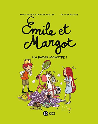 Émile et Margot T3 : Un bazar monstre