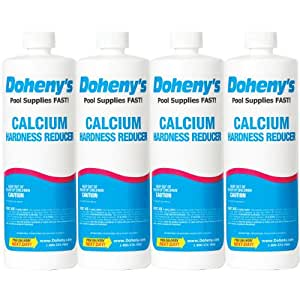 Doheny 39 S Calcium Hardness Reducer 4 Quarts 4 1 Qt Bottles Swimming Pool Ph