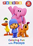 img - for Coloring Fun with Pocoyo (Pocoyo) (Super Color with Stickers) book / textbook / text book