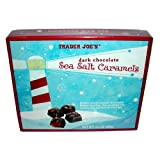 Trader Joes Dark Chocolate Sea Salt Caramels