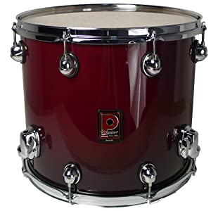 Premier drums genista series 43264dwf 1 piece birch 14x12 for 14x12 floor tom
