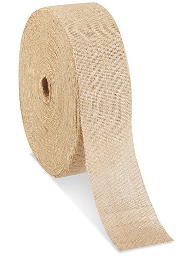 "Best Prices! 4"" x 100 yards Burlap Roll"