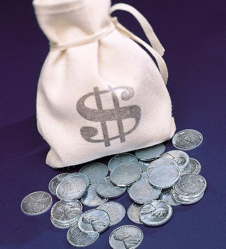 Banker's Bag of 1943 Steel Lincoln Pennies with Certificate of Authenticity