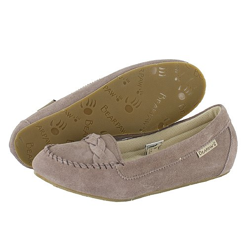 "Cheap Women's Bearpaw Mocassins ""Bailee"" – Mushroom (B0096CNJ6K)"