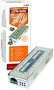 JT Eaton 428CL Little Pete Extra Narrow Multi Catch Mouse Trap with Clear Inspection Window