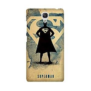 Xiaomi Redmi note 4G Designer Printed Covers (Xiaomi Redmi note 4G Back Cover) - Superhero Superman