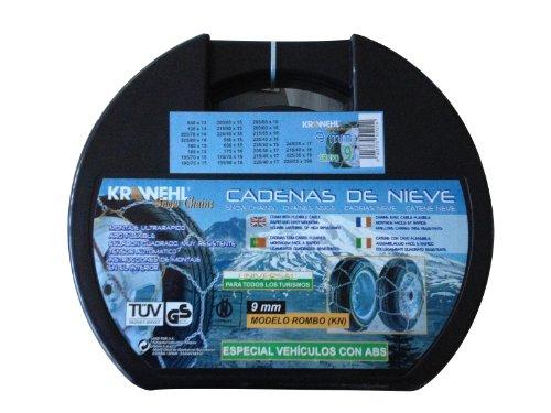Krawehl 3402.0011059 Catene da Neve Rombo, 9 mm, Gruppo 9
