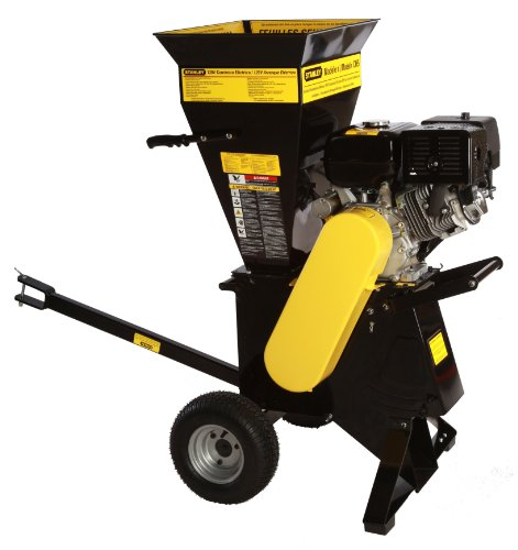 Check Out This Stanley CH5 15 HP 420cc Commercial Duty 2-Way Feed Chipper Shredder  with 4-Inch Diam...