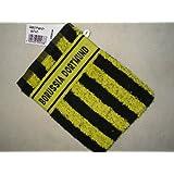 BVB Borussia Dortmund Waschhandschuh, schwarz-gelb 15/21 cm,Fussball-Fan-Artikel