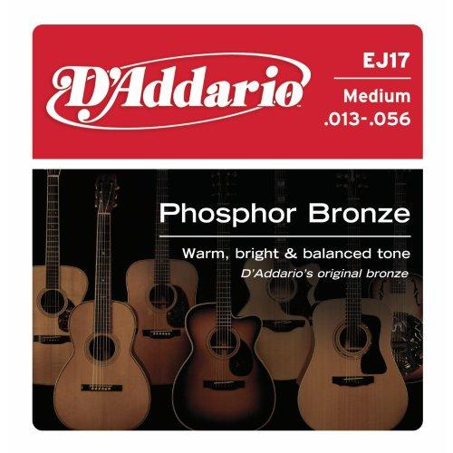 D'Addario EJ17 Phosphor Bronze Acoustic Guitar