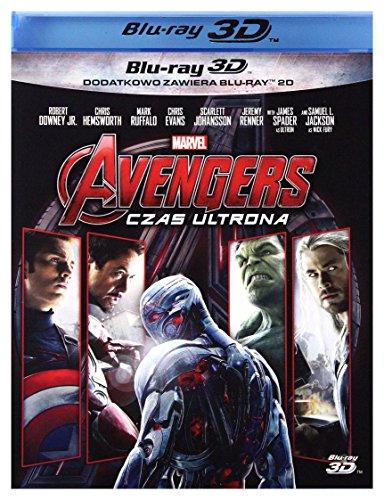 Avengers: Age of Ultron [Blu-Ray]+[Blu-Ray 3D] [Region B] (IMPORT) (Nessuna versione italiana)