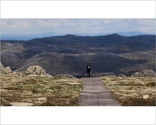photographic-print-of-lone-alpine-walker-returning-to-thredbo