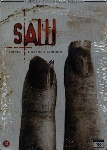 Saw 2 (2 Disc Limited Collectors Steelbook Edition) [2005] (Region 2) (Import) by Tobin Bell