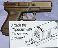 GS-B The Original Concealed Carry Clipdraw for Glock Models 17/19/22/23/24/25/26/27/28/31/32/33/34/35/36