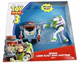 Disney Pixar Toy Story 3 Deluxe Buzz and Sparks Figures