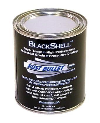 BSQ BlackShell preventivo y pintura de recubrimiento protector, 1