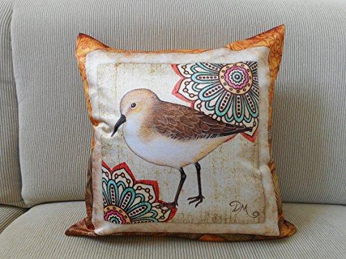 Sandpiper Accent Pillow Cover, 18