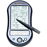 "Deluxe Sudoku Handheld Game-Electronic Pocket Size Sudoku Game, LED Screen, Great Gift - Measures 2-3/4"" wide x 4-3/4"" long x 3/4"" deep"
