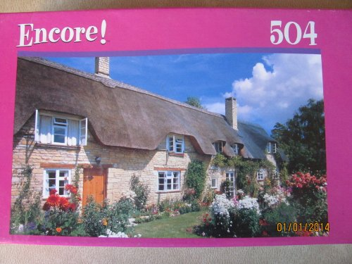 Encore 504pc. Puzzle-Thatched Cottage - 1