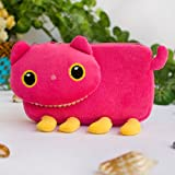 [Pink Kitty] Medium Plush Gadget Cosmetic Bag / Camera bag / Hand Purse Wallet (6.1*3.5*1.5)