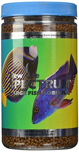 New Life Spectrum Large Fish Formula 3mm Sinking Salt/Freshwater Pet Food, 500gm
