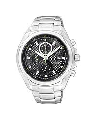 Citizen Eco-Drive Analog Black Dial Men's Watch CA0190-56E