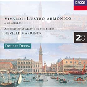 Vivaldi: L'Estro Armonico; 4 Concertos (2 CDs)